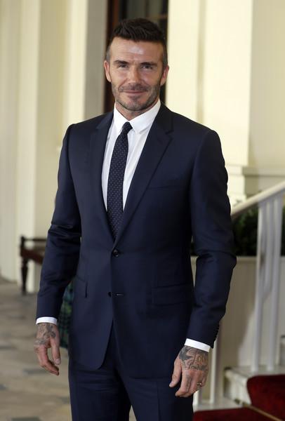 David Beckham posará para la portada de Vogue con Posh y los niños