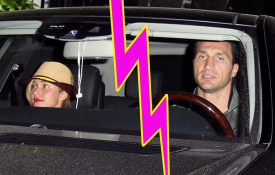 Hayden Panettiere y Wladimir Klitschko separados!