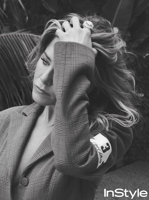 Jennifer Aniston habla de su separación de Justin Theroux (InStyle)