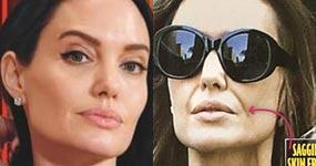 Tabloides: Angelina anoréxica, pierde a los niños! LOL!