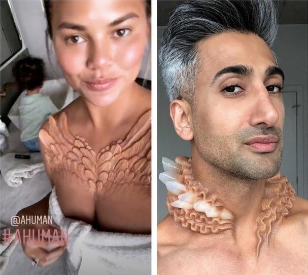 Kim Kardashian y su collar Alien . Lo usarían?