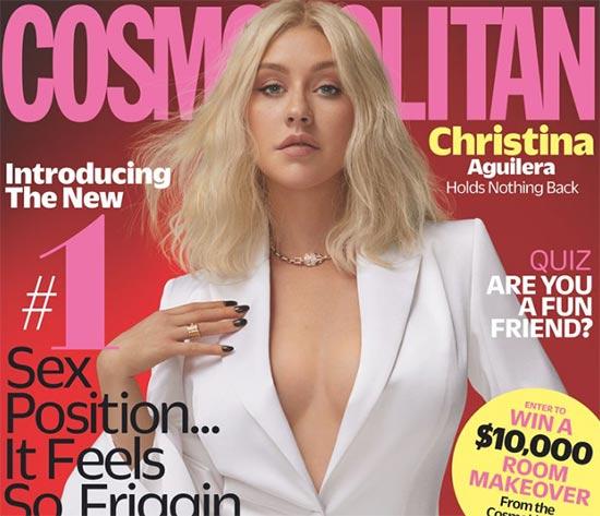 Christina Aguilera habla de su rivalidad con Britney Spears (Cosmopolitan)