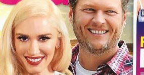 Gwen Stefani y Blake Shelton casados en Oklahoma (Star)