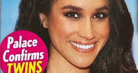 Meghan Markle embarazada de gemelas, Harry feliz! (Life&Style)