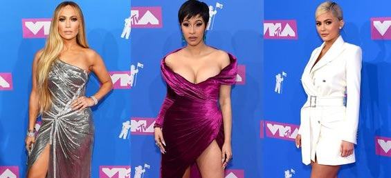Las Mejor Vestidas MTV VMAs 2018