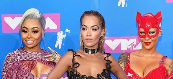 Las PEOR Vestidas MTV VMAs 2018