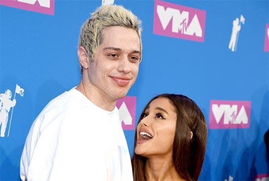 El chiste inapropiado de Pete Davidson sobre Ariana Grande
