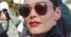 Rose McGowan reveló que su novia filtró mensajes de Asia Argento