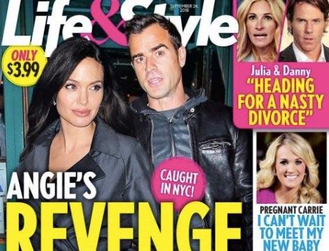 La venganza de Angie contra Jen. Quiere a Justin Theroux! (L&S)