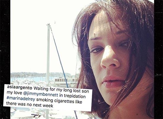 Jimmy Bennett denunciará a Asia Argento por abuso sexual
