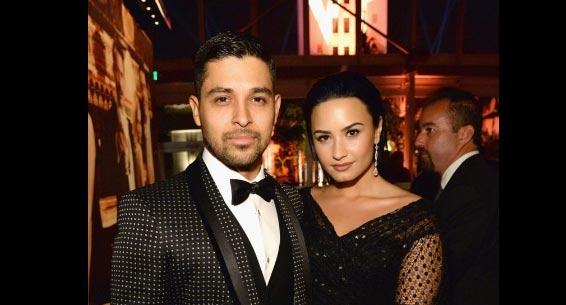 Wilmer Valderrama visita a Demi Lovato en rehab