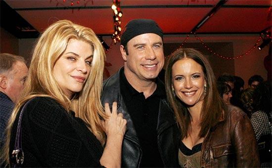 Kirstie Alley: John Travolta no es gay! Estábamos enamorados!