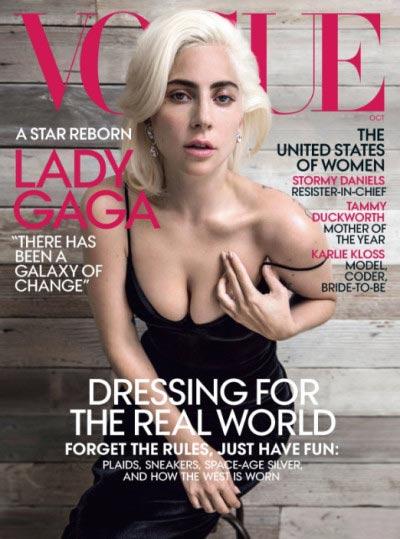 Lady Gaga: la moda es como una armadura (VOGUE)