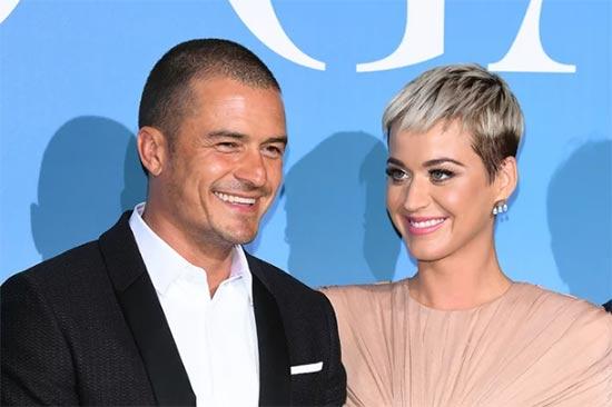 Katy Perry y Orlando Bloom juntos en la red carpet!!