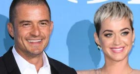 Katy Perry y Orlando Bloom juntos en la red carpet!!