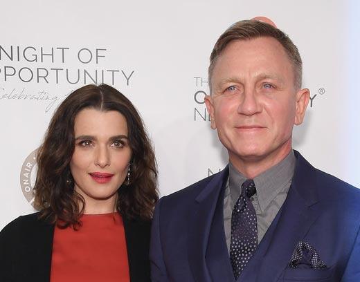 Rachel Weisz y Daniel Craig tuvieron a su hija! Baby Girl!