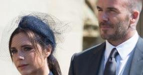 David Beckham: estar casado con Victoria es trabajo duro