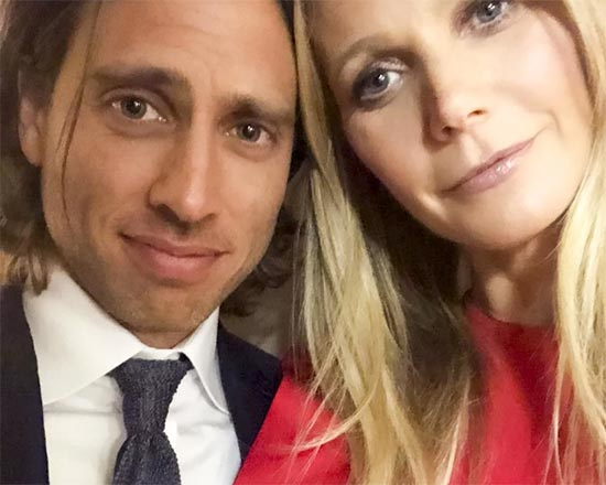 Gwyneth Paltrow se casó con Brad Falchuk! Vean los anillos!