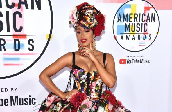 Cardi B en los AMAs 2018 – Habla de Nicki Minaj