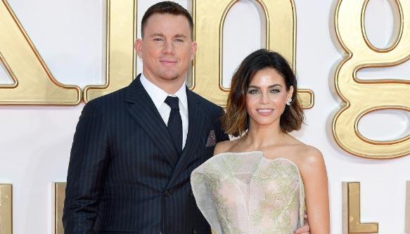 Jenna Dewan besa a su nuevo novio tras solicitar el divorcio de Channing Tatum