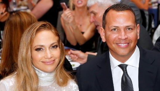 Jennifer Lopez con un anillo, rumores de compromiso con A-Rod