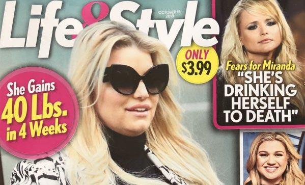 Jessica Simpson embarazada de gemelas!! (Life&Style)