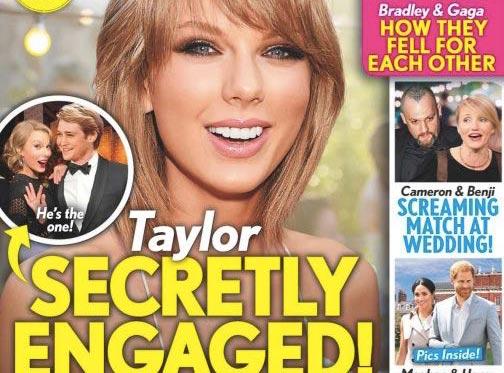 Taylor Swift comprometida en secreto (Life&Style)