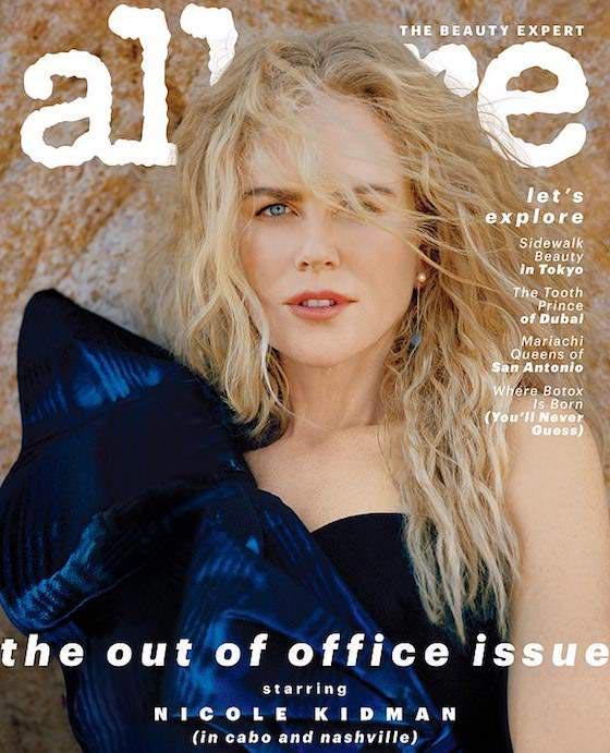 Nicole Kidman dice que no es una celebridad (Allure)