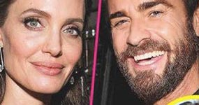 Angelina Jolie y Justin Theroux saliendo! (L&S)