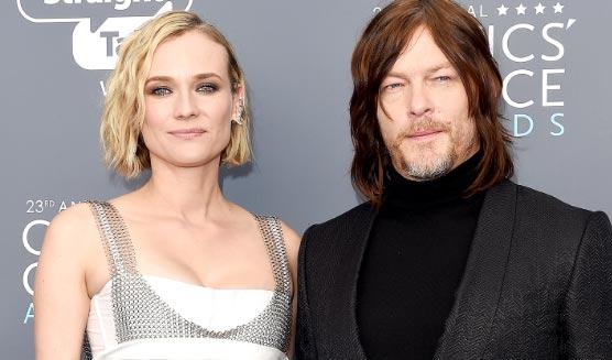 Diane Kruger y Norman Reedus ya son padres!