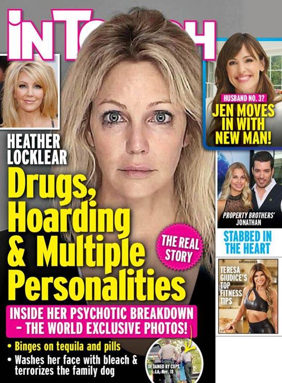 Heather Locklear: detalles de su ataque psicótico (InTouch)