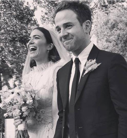 Así se casó Mandy Moore con Taylor Goldsmith