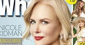 Nicole Kidman habla de sus hijos adoptados Bella y Connor Cruise
