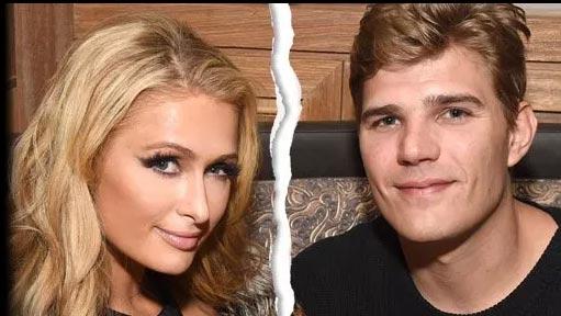 Paris Hilton y Chris Zylka terminaron, fin del compromiso