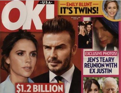 El divorcio de los Beckham! $1.2 billones (OK!)