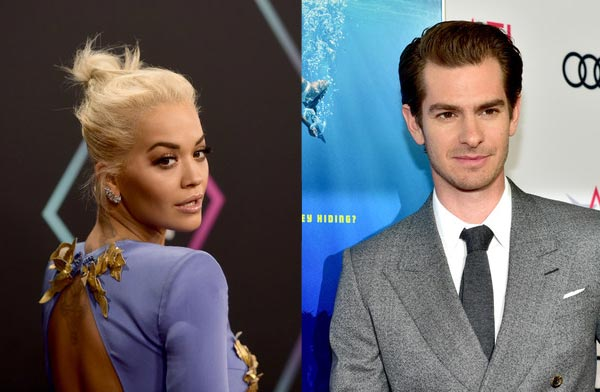 Rita Ora saliendo con Andrew Garfield