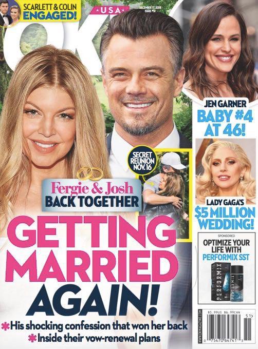 Fergie y Josh Duhamel vuelven juntos (OK!)