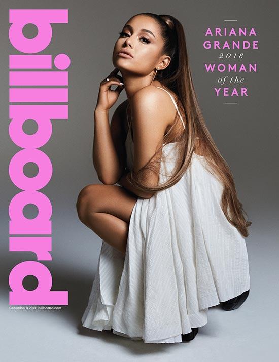 Ariana Grande Mujer del Año Billboard 2018