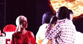 Cardi B y Offset sorprendiéndola en el escenario fue planeado?