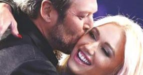 Gwen Stefani y Blake Shelton esperan Gemelas!! (Life&Style)