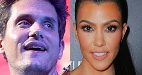 A John Mayer le gusta Kourtney Kardashian