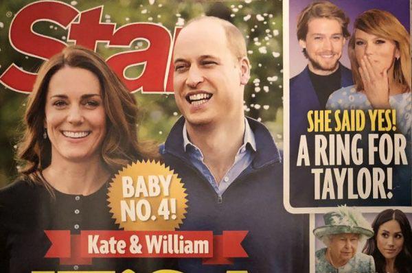 Kate & William: Baby Número 4. Una niña!! (Star)