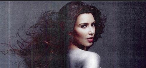 Kim Kardashian desnuda en W magazine|Kim Kardashian Naked W|