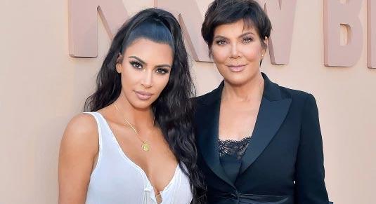 Kim Kardashian dejó de consumir drogas por su madre Kris