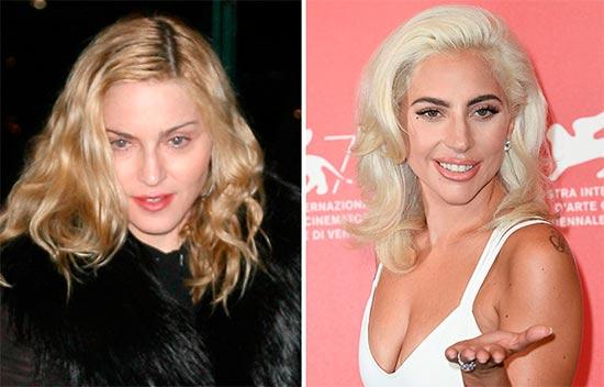 Madonna vuelve a encender pelea con Lady Gaga. Copycat!