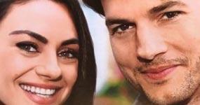 Mila Kunis y Ashton Kutcher esperando gemelos (Star!)