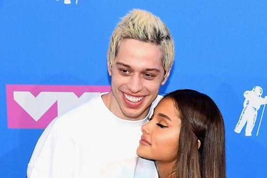 Pete Davidson prohibió que Ariana Grande entrara a SNL