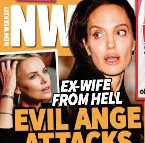 Malvada Angelina ataca a Charlize! (NW)