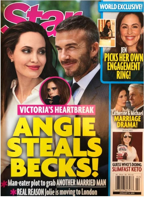Angelina Jolie se roba a David Beckham! LOL (Star)