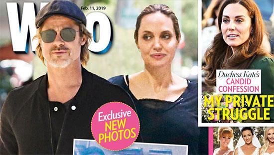Brad Pitt y Angelina Jolie juntos, vuelven! FOTOS!!! (Who)